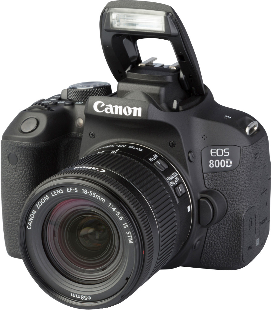 CAMERAS _ CANON _ EOS 800D with EF-S 18-55m F4-5,6 IS STM