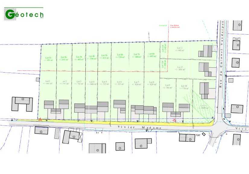 Avant-projet d'urbanisation à Grandhan Durbuy