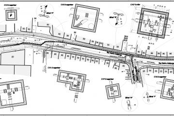 Renouvelement des installations de distribution d'eau rue Sainte-Walburge à Liège