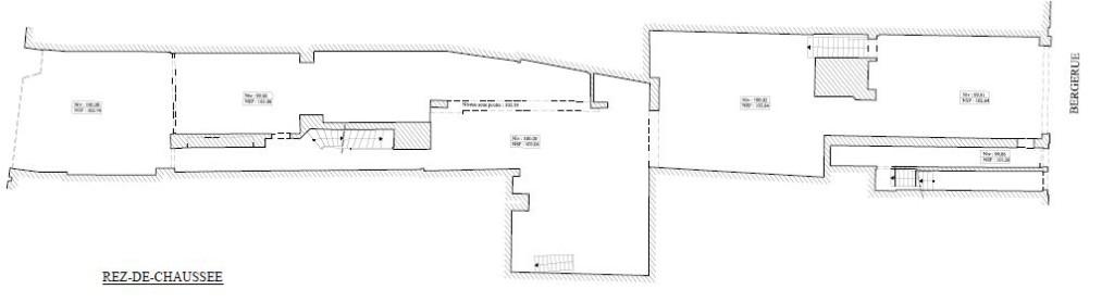 Plan niveau rez de chaussée